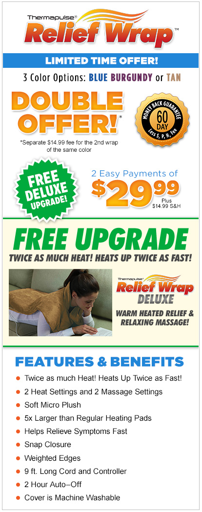 Order Thermapulse™ Relief Wrap Now!